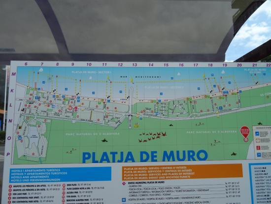 Playa De Muro Karte.Playa De Muro Picture Of Grupotel Alcudia Suite Playa De