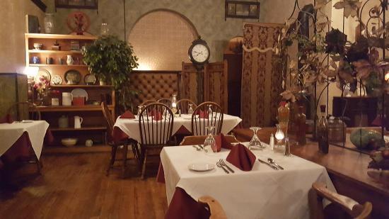 Buffalo, WY: une des salles de restaurant