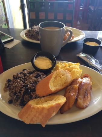 San Pablo, Costa Rica: Delicioso desayuno!!