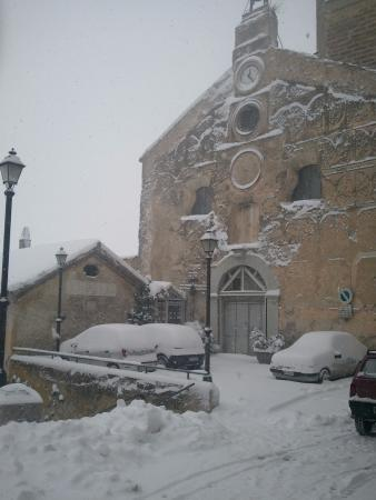 Caggiano, Italie : Chiesa SS. Salvatore