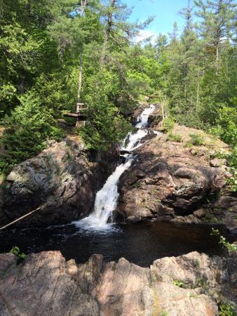Crystal Waterfall at kinsmen Park