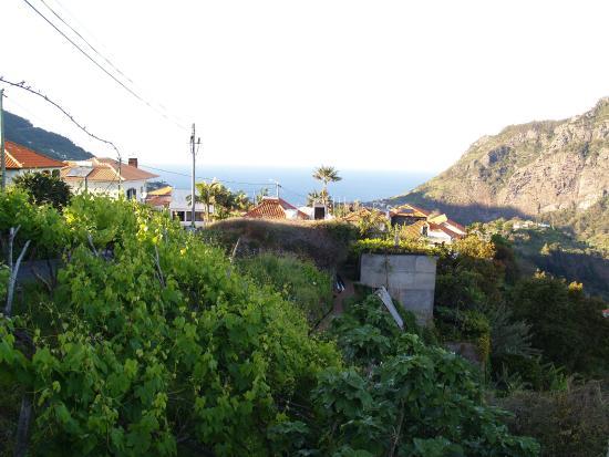 Rural Sanroque : vue du village à 50 m de l'hotel