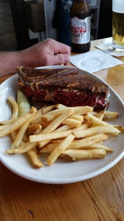 New Buffalo, MI: grilled reuben