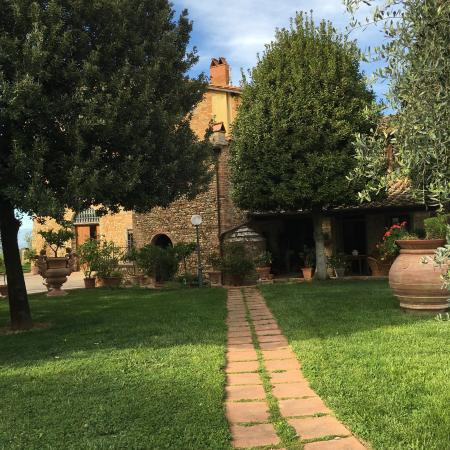 Villa Le Torri: From the back
