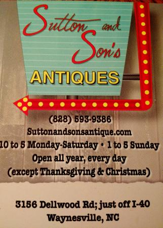‪Sutton and Son's Antiques‬