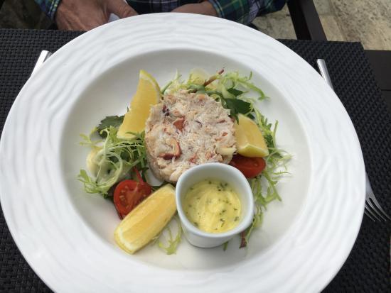 La Fregate: - Crab salad (worth two photos, don't you think?)!