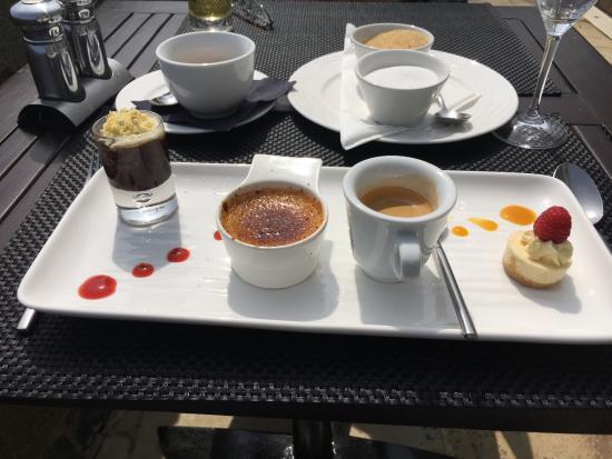La Fregate: Taster dessert - amazing and astonishingly good value.