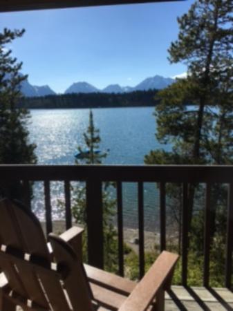 Signal Mountain Lodge: Upper Lake Front Unit