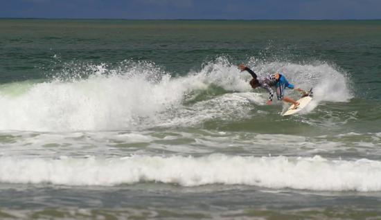 Las Salinas, Nikaragua: pushing it
