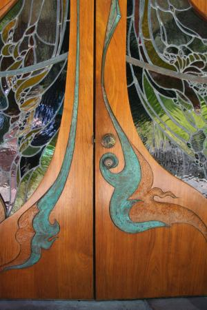 The Sea Ranch, Kalifornia: Entry Door detail