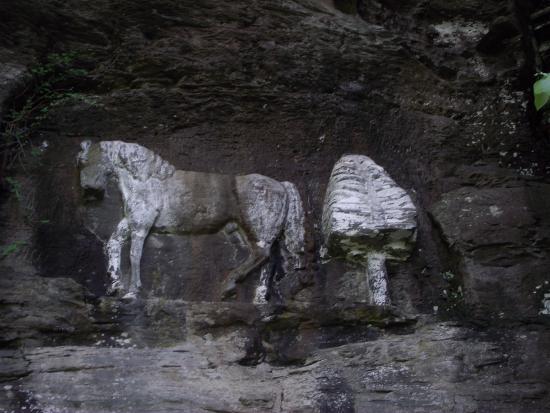 Prattsville, NY: The Horse and the tree