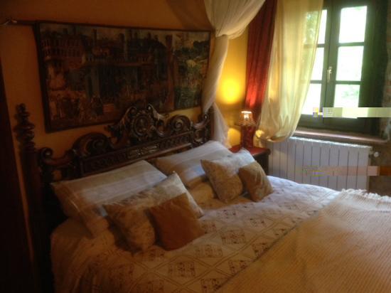villa la fagianaia romantische slaapkamer