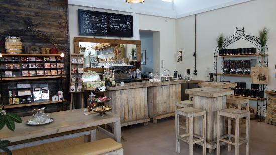 Cafe u theke bild von kaffeer sterei m ller bodenheim tripadvisor - Europaletten theke ...