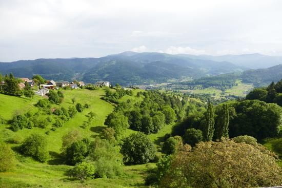 Hohrod, Frankreich: view from terrace