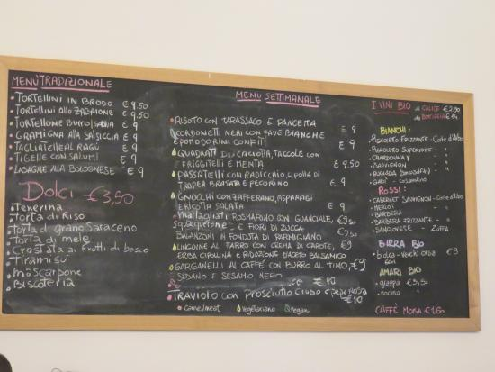 Menu - Picture of Sfoglia Rina, Bologna - TripAdvisor