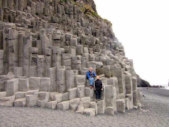 Nordic Visitor Tours - Day Tours: basalt columns at vik