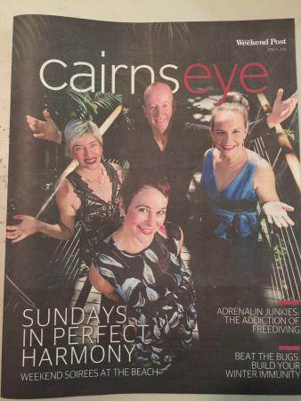 Edge Hill, Austrália: Carins post (weekend post). 11/06/16