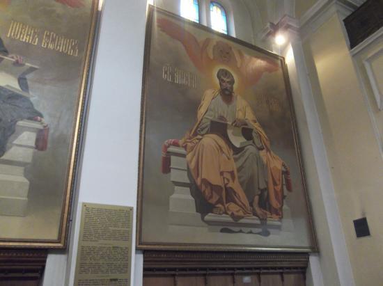 St. Nikola Church: One of the Apostles?