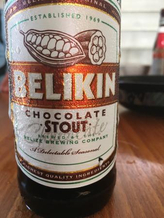 Punta Gorda, Belize: One of several different Belikin beers.