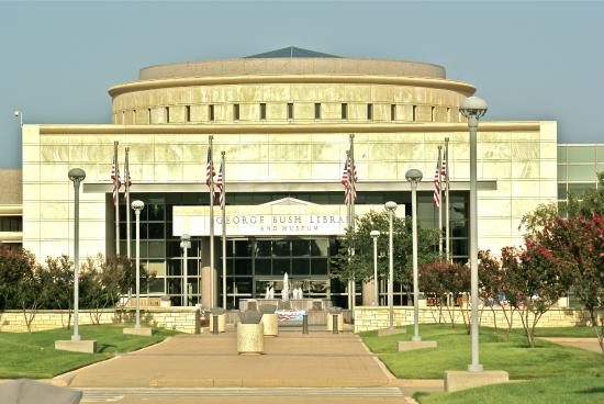 The George H W Bush Presidential Library And Museum Picture Of