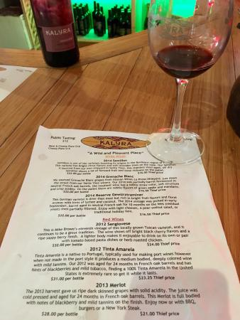 Santa Ynez, Californië: Desserts and Whites & Reds Tastings June 11, 2016. The 2012 Vintage Port was AWESOME!
