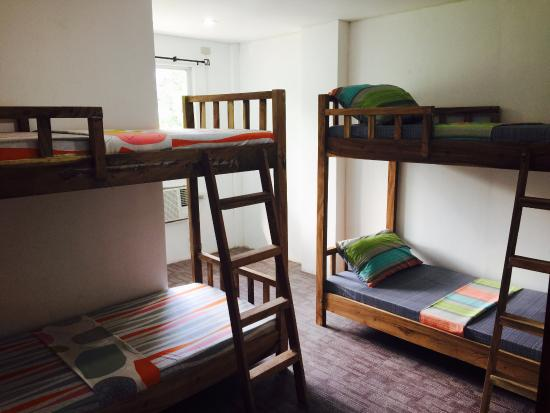 4 beds mixed dormitory room with hot and cold shower,private ...