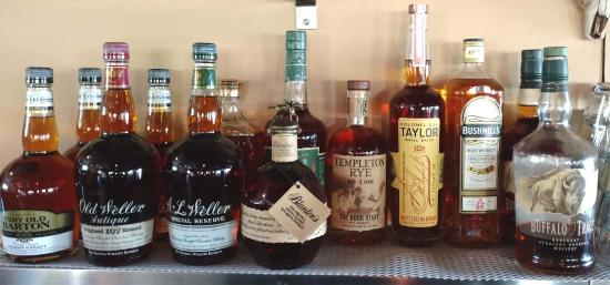 Antioch, IL: Large Whiskey selection...