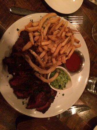 Flatiron Steakhouse: Steak frites