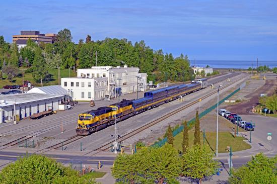 Alaska Railroad Depot