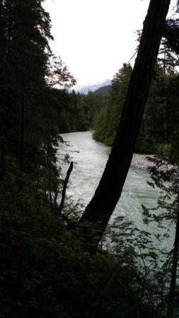 Pemberton, Canadá: Fast moving River