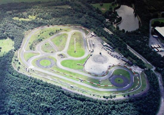 Three Sisters Race Circuit >> Ariel Shot Of The Track Picture Of Three Sisters Racing