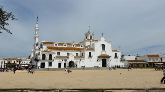 Province of Huelva, Spanien: SANCTUAIRE DE LA VIERGE DEL ROCIO PROVINCE DE HUELVA