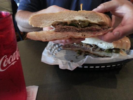 Ruskin, FL: Steak sandwich