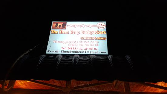 The Siem Reap Backpackers Restaurant & Bakery