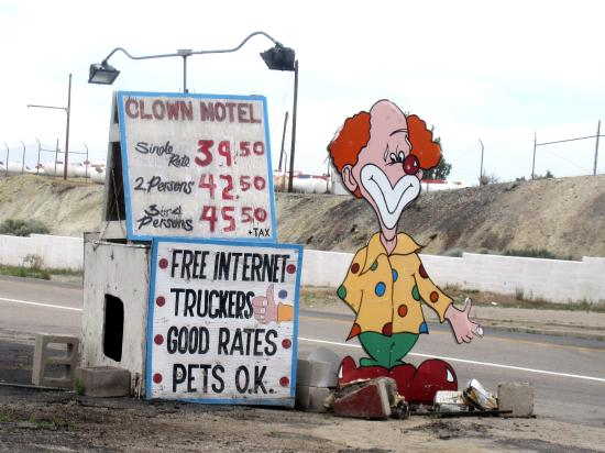 clown motel tonopah nevada picture of clown motel tonopah
