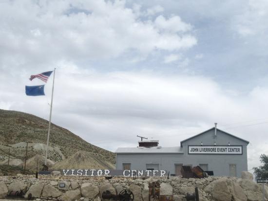 visitor center tonopah historic mining park tonopah nevada