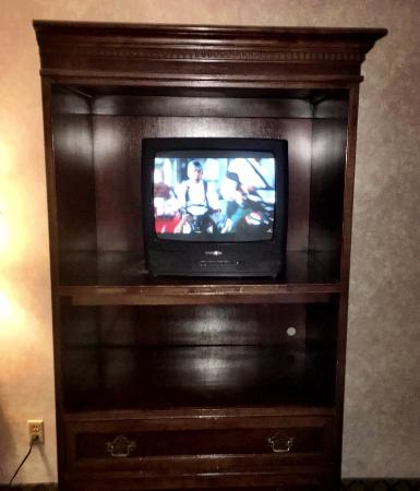 A Victory Inn & Suites - Ann Arbor: TV relic