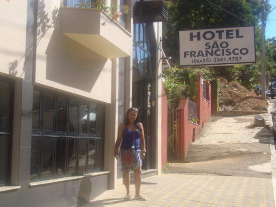 Hotel Sao Francisco: Entrada do hotel