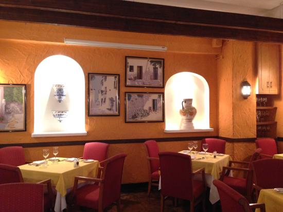 Interior design picture of ole spanish restaurant