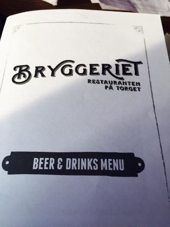 Nice food, great beer