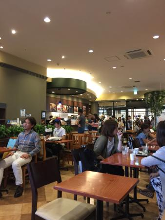 Tully's Coffee Mitusui Outlet Park Shiga Ryuo