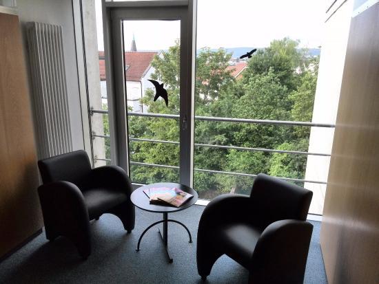 Ditzingen, Jerman: Sitzecke auf der Etage