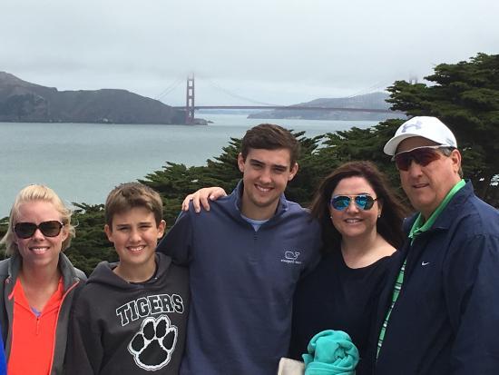 Danville, Califórnia: Family trip to SF