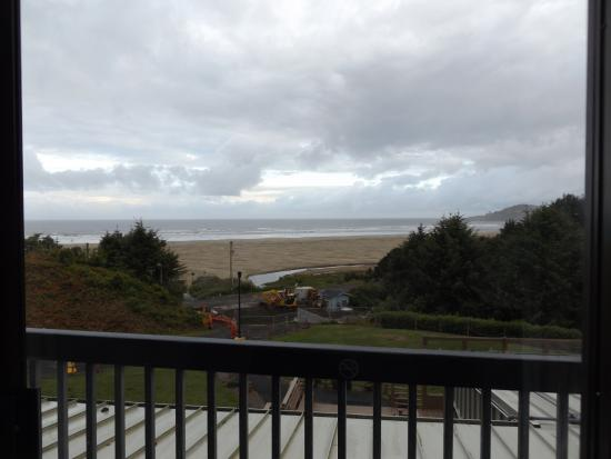 Best Western Plus Agate Beach Inn The View From My Second Floor Room At