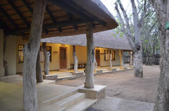 Letaba Rest Camp: View of rooms