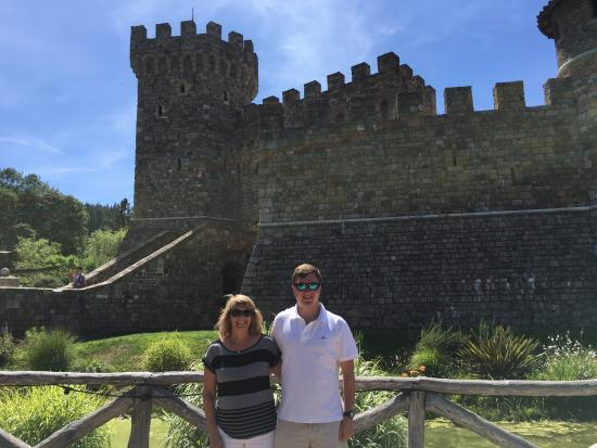 Danville, CA: Castello di Amorisa ! An awesome winery to tour in Napa