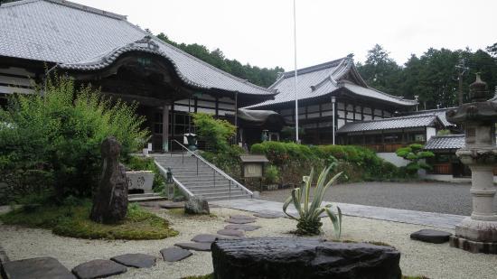 Makinohara, Giappone: 本堂と大庫裏と庭