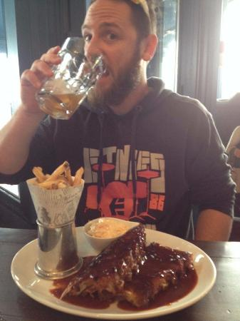 Bexhill-on-Sea, UK: Ribs