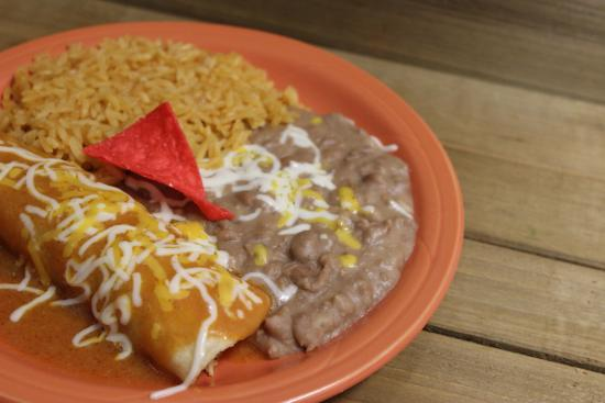 Taco Cancun Mexican Grill: Childrens Chicken Enchilada