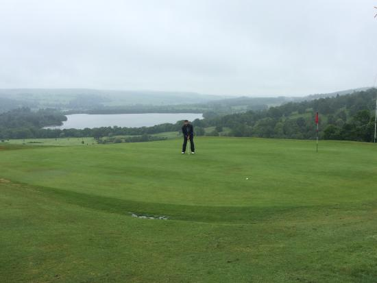 Dunkeld and Birnam Golf Club: Googled and chose. Weather per picture BUT course great (beats more expensive/busy Pitlochry.) M